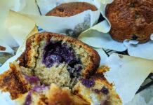 muffin banana mirtilo