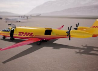 DHL Express fará entregas com aviões de carga elétricos em 2024