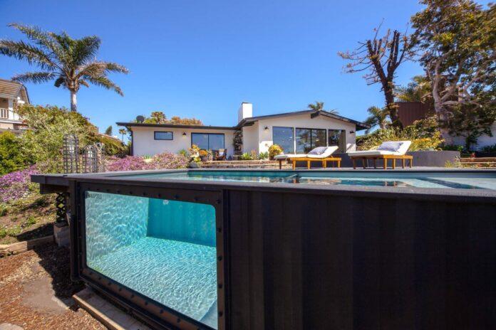 contêiner piscinas