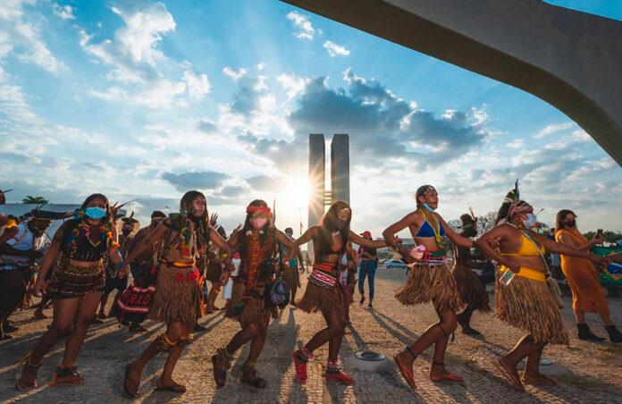 indígenas Brasília marco temporal