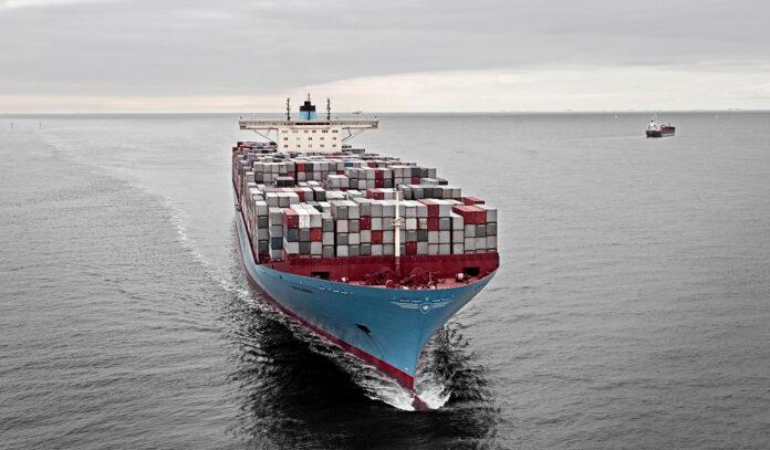 navios neutros em carbono Maersk