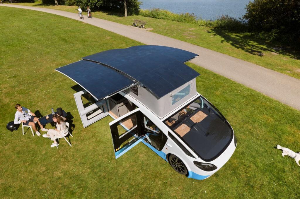 1ª van movida a energia solar é lançada na Holanda - CicloVivo