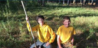 adolescentes jardins abelhas
