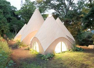 cabana montanhas japonesas