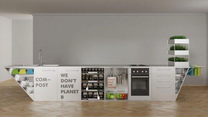 cozinha lixo zero