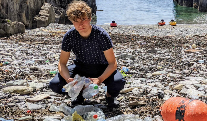 irlandês imã microplásticos