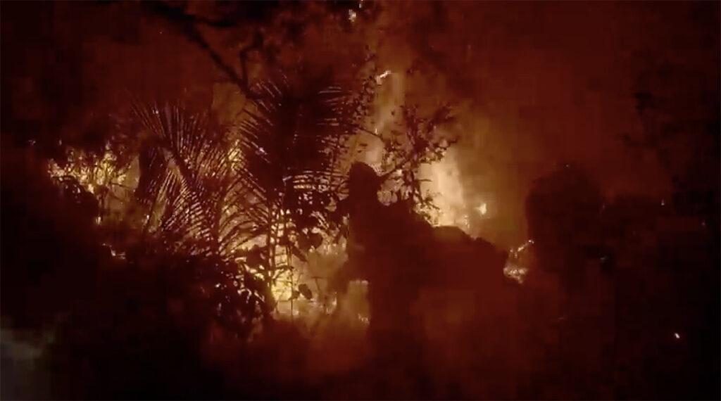 Mundano painel queimadas