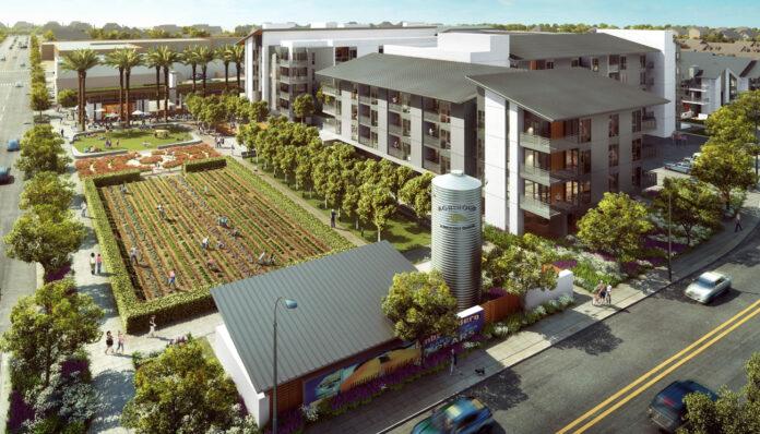 Complexo residencial terá fazenda urbana de 6 mil metros quadrados