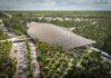 Arquitetura maia inspira projeto de estação de trem no México